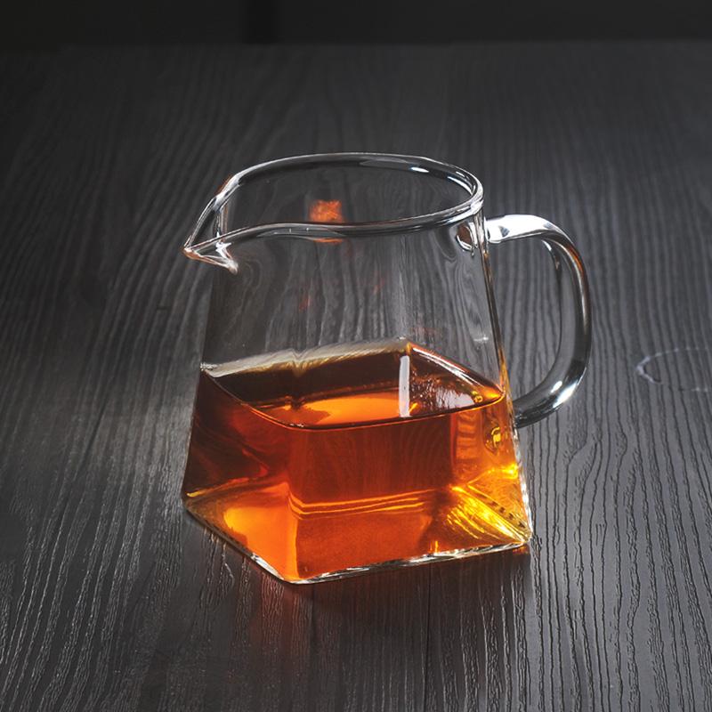 陶瓷故事玻璃公道杯加厚耐熱茶海分茶器帶茶漏隔茶器功夫茶具