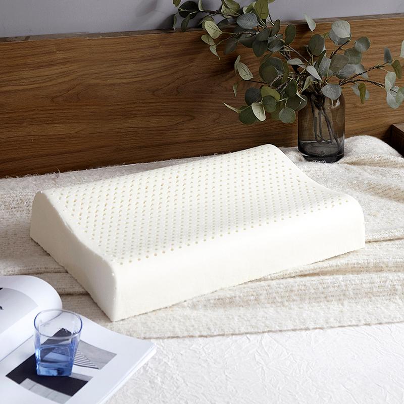 乳胶枕芯枕头枕套护颈单人学生双人家用橡胶记忆男女成人一对拍2不包邮