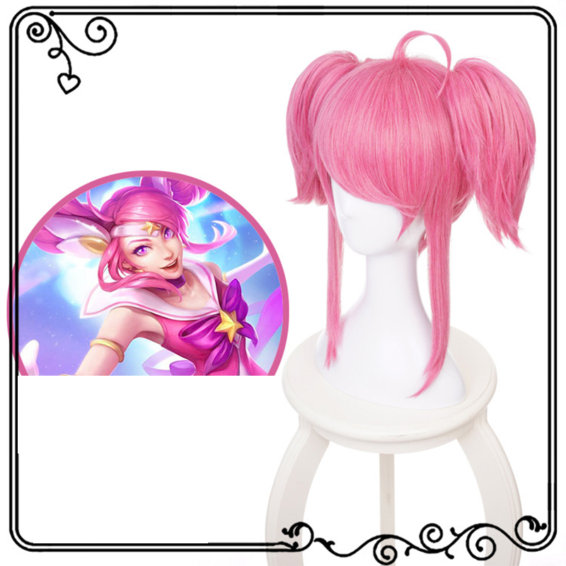 Roleplaying lol hero League lacs brilliant girl magic girl cos animation wig package