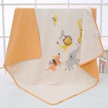 婴儿被子纯棉薄款四季通用春秋抱被子夏季空调盖被新生宝宝小包被