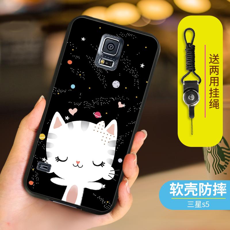 三星s59008w手机壳SM-G9009D保护套g9006v女GALAXY S5防摔G9008W
