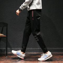 日系哈伦裤休闲裤男运动卫裤男88912-P65 44%人棉49%锦纶7%氨纶