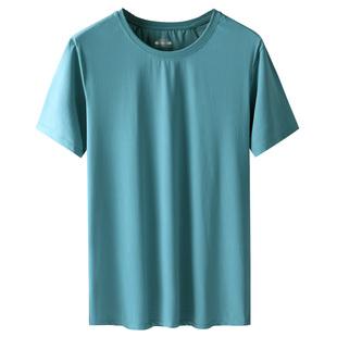 凉爽整个夏天的神器男短袖冰丝t恤