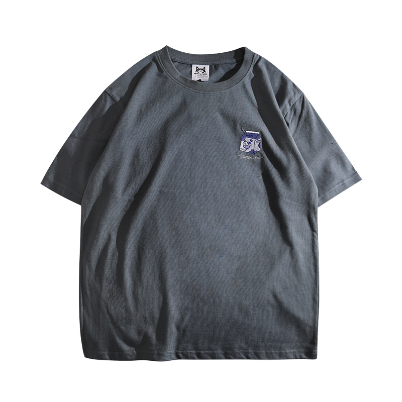 港风复古潮牌男短袖夏季bf原宿t恤质量怎么样