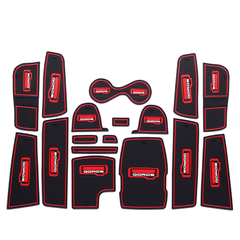 Guanzhi 5 special water cup mat antiskid pad Guanzhi 3 interior modification automobile decoration articles car sticker accessories