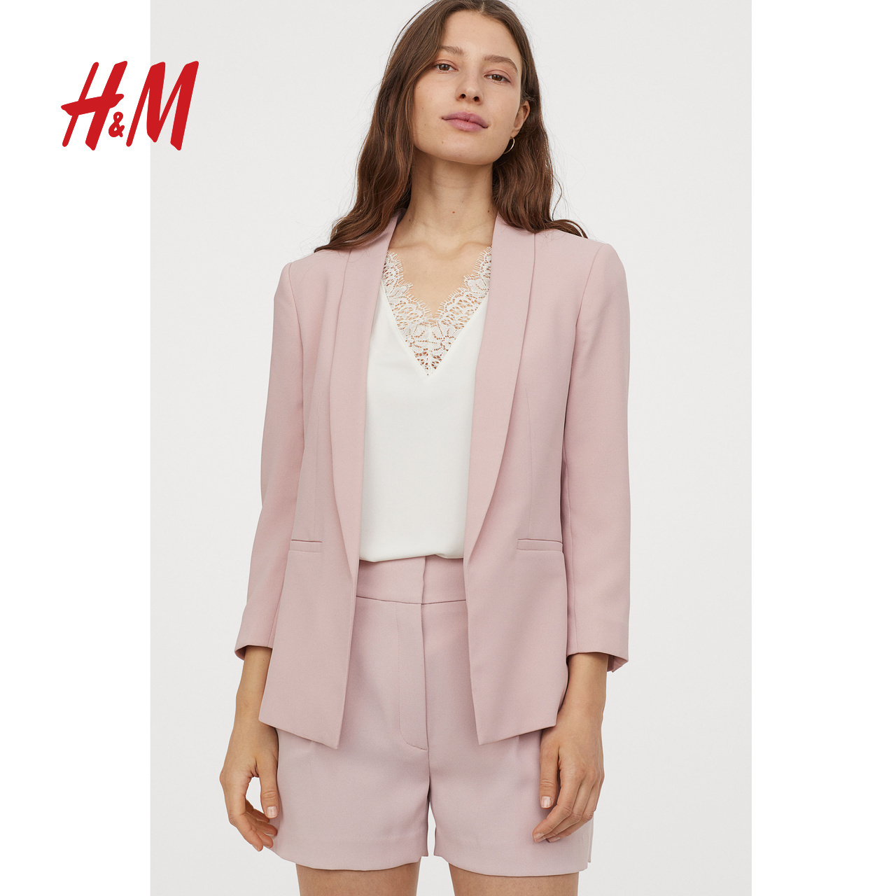 HM women's small suit outerwear women's 2020 spring dress leisure western style women's top professional dress 0728156