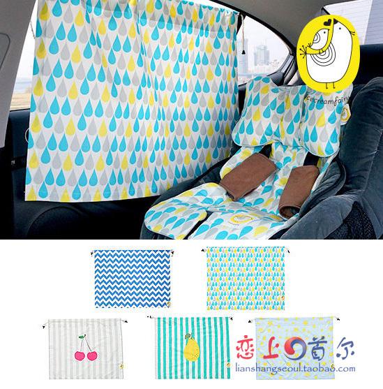 【 импорт из южной кореи 】Мороженое Fairy защита от ультрафиолетовых лучей автомобиль занавес / тени анти-бликовый солнце занавес сын
