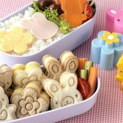 小动物迷你三明治模具 儿童饼干压花器吐司模便当造型DIY模具套装