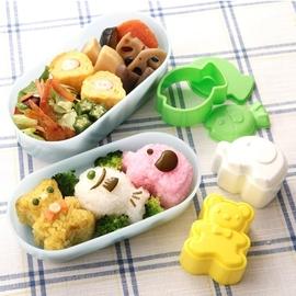 熊象鱼小动物饭团模具套装米饭寿司儿童便当DIY模具创意厨房工具图片