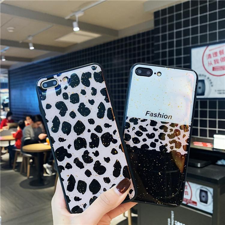 新款豹纹苹果XSmax手机壳6s日韩iphone7欧美8plus女款XR潮牌X个性