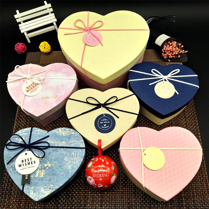 限1000张券创意情话牛轧糖心形礼盒装表白礼物