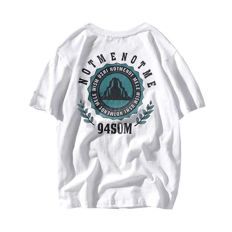 (用160元券)短袖男女情侣夏季白色上衣装t恤