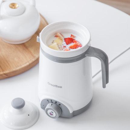 办公室养生杯电炖煮粥杯子 学生宿舍陶瓷电热煲汤 小迷你加热牛奶