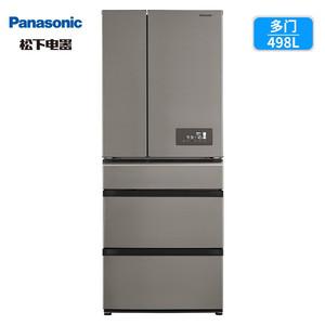 5590元包邮   松下 NR-EE50TP1-S 变频风冷多门冰箱 498L