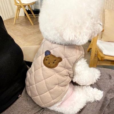 秋冬装加厚宠物棉衣泰迪贵宾比熊博美猫咪小型犬狗狗衣服冬季棉袄