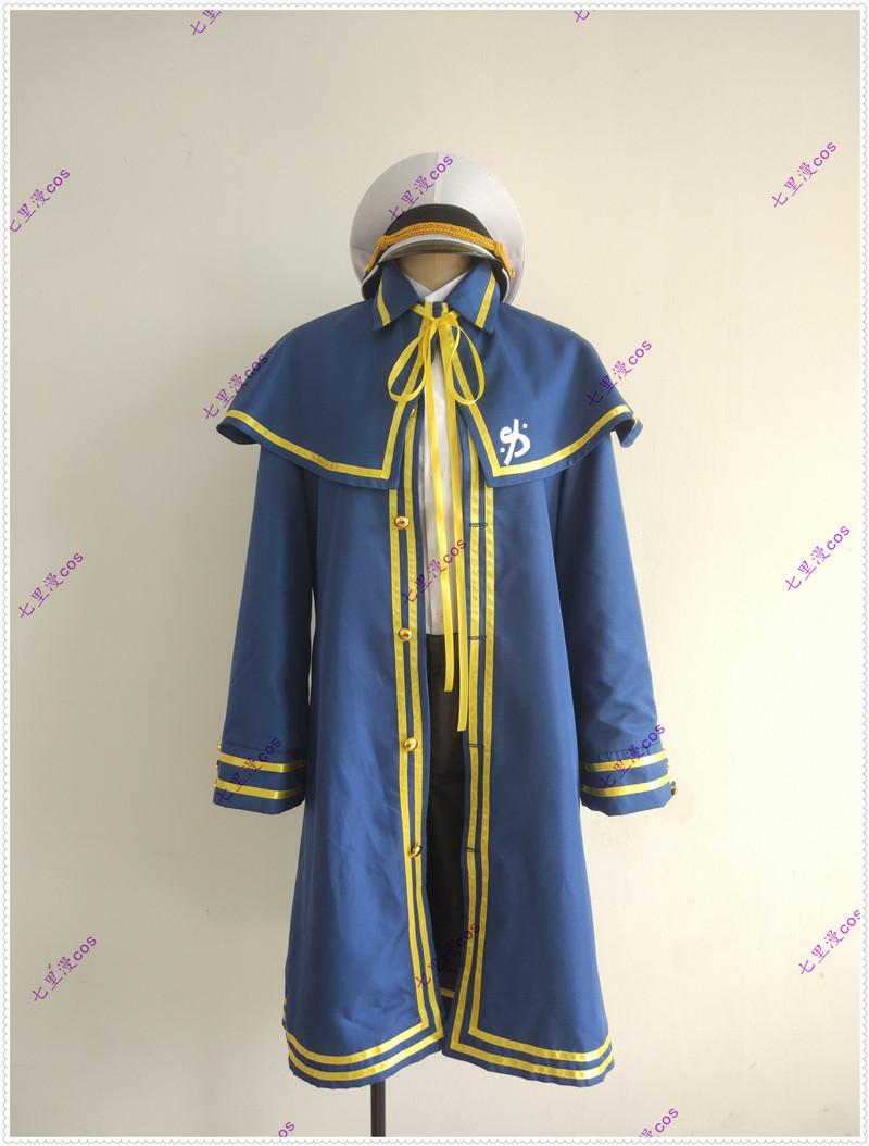 Oliver COS vocaloid 3オリバー男性海軍のコスプレ衣装をカスタマイズします。
