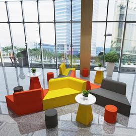 洽谈区沙发精品酒店大厅沙发公司前台沙发会客区沙发接待区沙发
