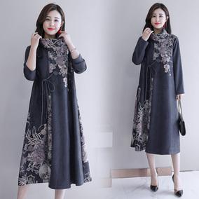 2020春装新款秋季韩版长袖气质长裙