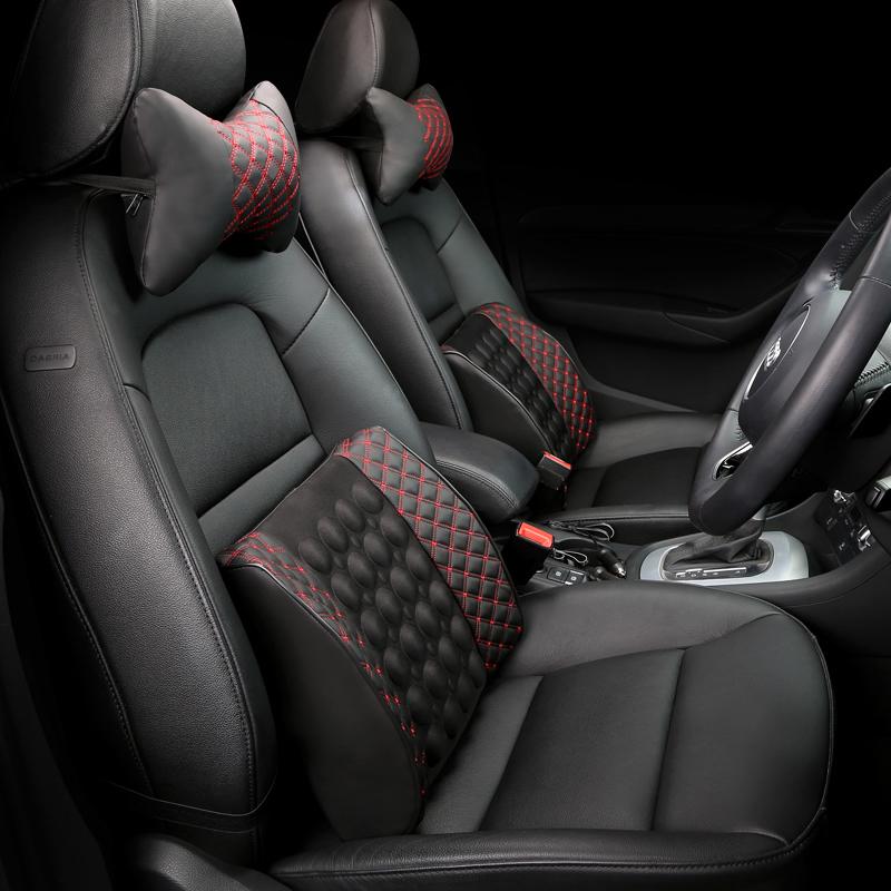汽車腰靠電動按摩靠枕車用腰枕車載腰墊座椅靠背腰部支撐護腰靠墊