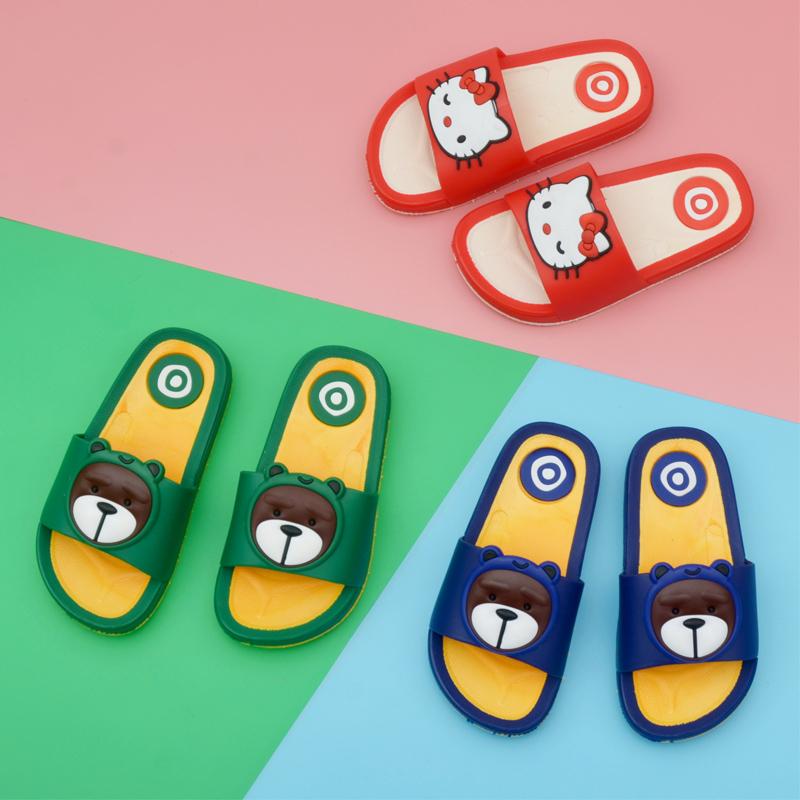 爱儿福童鞋防滑儿童拖鞋夏室内家用软底宝宝居家男童女童凉拖鞋