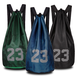篮球包篮球袋训练包羽毛球拍包多功能双肩背包收纳包网兜足球儿童