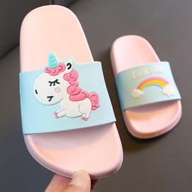 儿童拖鞋夏季女童可爱公主小孩防滑室内家居软底家用亲子凉拖鞋图片