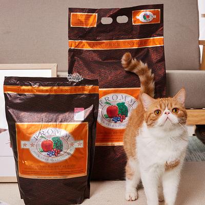 萌宠儿 Fromm福摩无谷猎鸟天然粮全猫粮成猫幼猫 5磅/15磅