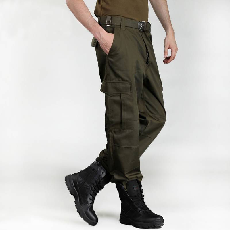 Free Knight outdoor military fans loose training frock pants wear resistant tactical camouflage charging pants mens pants