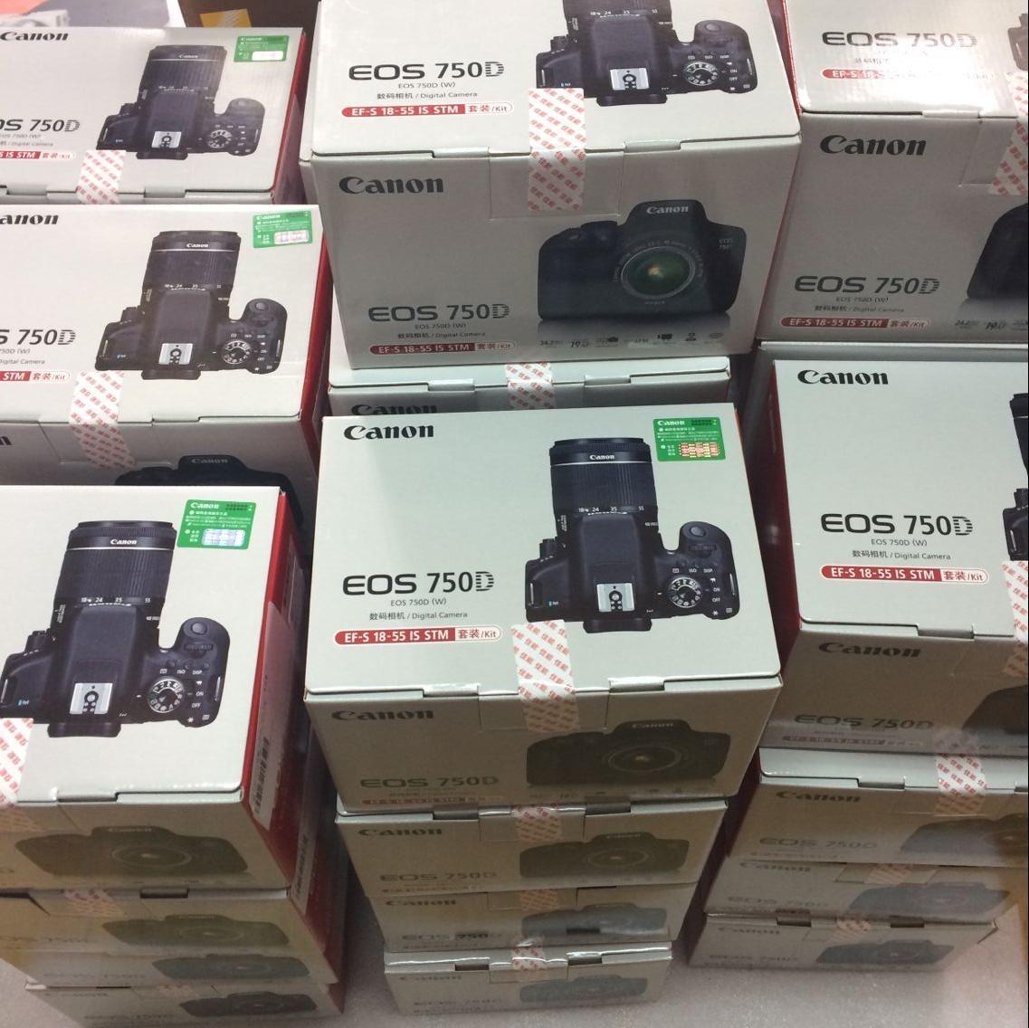Canon/佳能 EOS 750D套机18-55 WIFI无线单反数码相机 有760D
