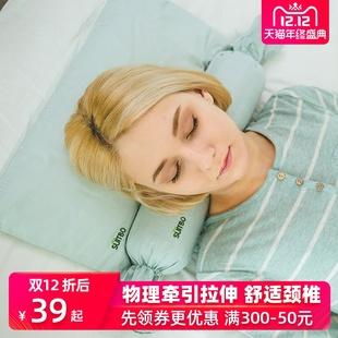 护颈枕头颈椎枕头糖果枕圆枕单人颈椎专用枕护颈椎牵引舒适硬枕头
