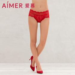 爱慕红色内裤女Vivienne Tam高腰平角裤AM235491