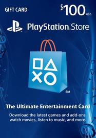 美服PSN 100美金充值点卡 美国Sony PlayStation Store PS4 PS Vita Gift Card US图片