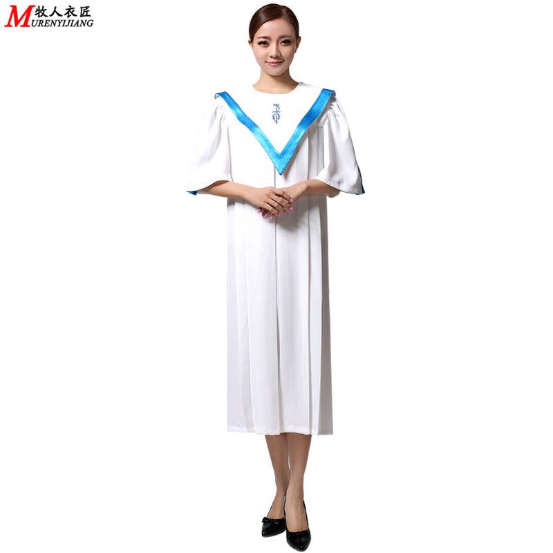 基督教服装 服饰 圣服圣衣圣袍 唱诗班服 教会服装 圣诗服MRY035