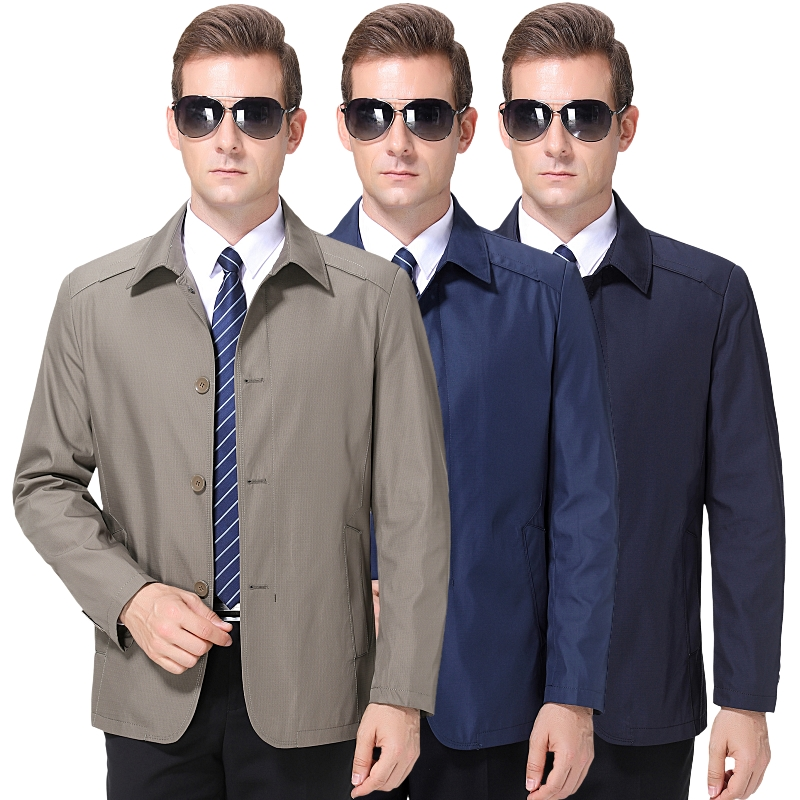 New mens jacket in spring and autumn 2020 Hengyuanxiang casual fashion business mens jacket