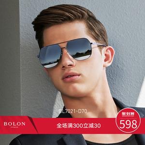 领20元券购买BOLON暴龙偏光墨镜蛤蟆镜飞行员太阳镜男潮流开车眼镜官网BL7021