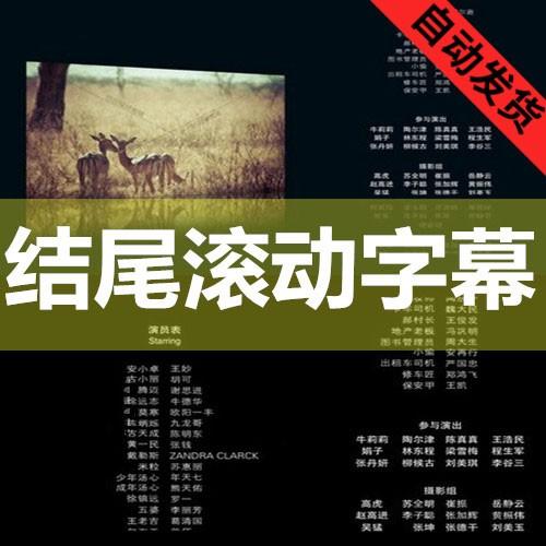 多種類の映画のドラマの小さい映画のビデオの終わりは字幕AEテンプレートの設計の素材を転がします。
