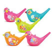 Huijia 529 Creative painted birds toddler whistle playing instrument childrens early education puzzle music Toys
