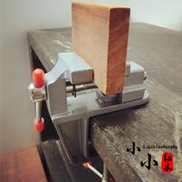 Мини-тиски для тисков алюминий Маленькие тиски малой тишины