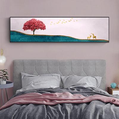 十字绣床头画 现代简约 2020新款线绣浪漫温馨优雅卧室自己绣手工