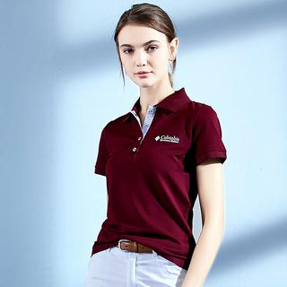 翻领短袖t恤女2021夏季新款纯色宽松polo衫有领半袖运动带领上衣