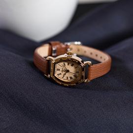 julius聚利时女表复古女生手表女学生韩版简约时尚小巧真皮带表