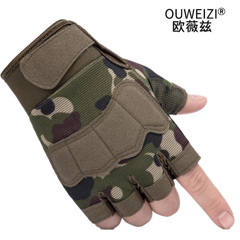 Мужские перчатки без пальцев Артикул 590142924069
