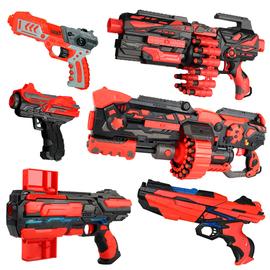 峰佳软弹枪儿童玩具枪手动可发射子弹枪安全吸盘连发手枪男孩礼物图片
