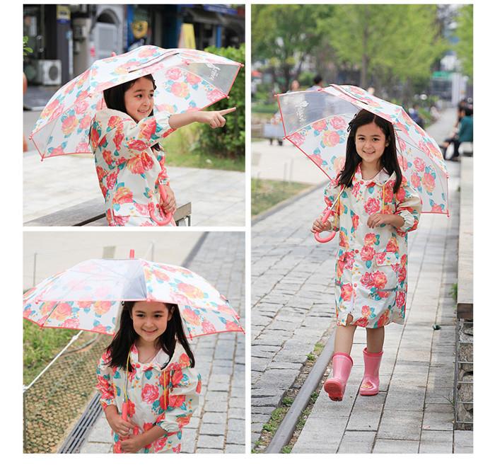 韩国订单 儿童雨衣户外防风衣 0.13kg