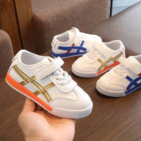 2021春季男童皮面小白鞋子童鞋