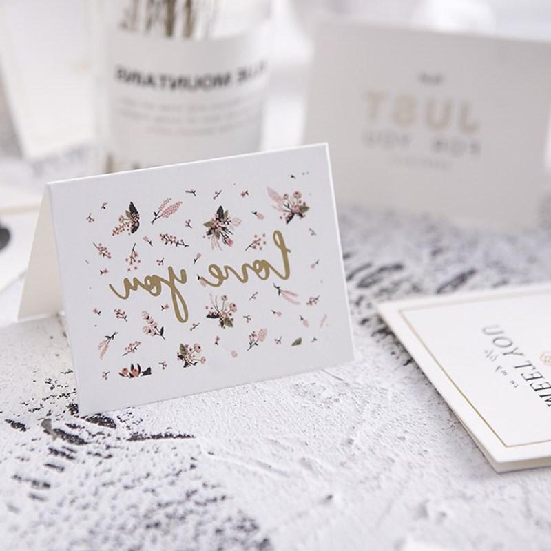 贺卡小卡片简约礼物男生女生漂亮师生信封纸张教师节礼品爱情。