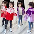 女童冲锋衣外套2021新款秋装小女孩加绒加厚春秋儿童三合一可拆卸