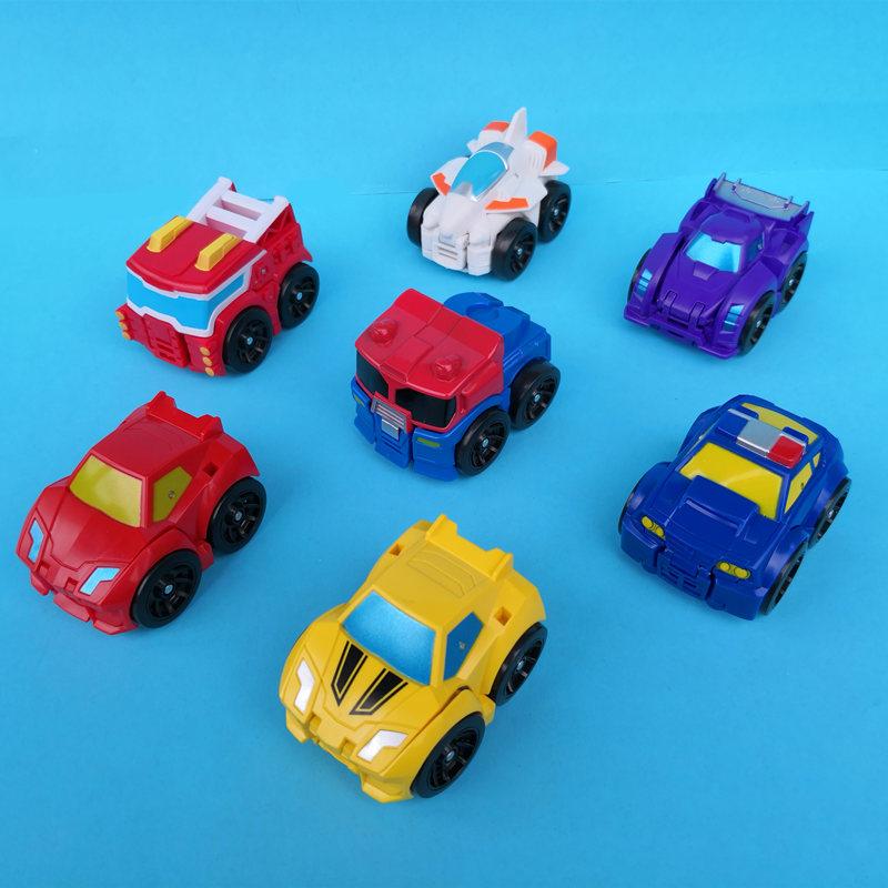 一闪变形迷你金刚口袋小汽车蒙巴迪黄蜂刀锋机器人儿童玩具356岁10月31日最新优惠