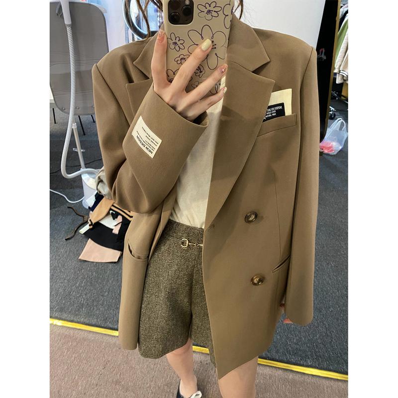 外套女2021新款韩版洋气贴标宽松评价如何
