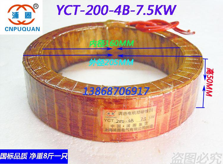 YCT-200-4B губернатор двигатель поощрять магнитный катушка 7.5KW фиолетовый медь